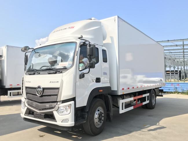 (厢长5.9米)福田欧马可S5冷藏车