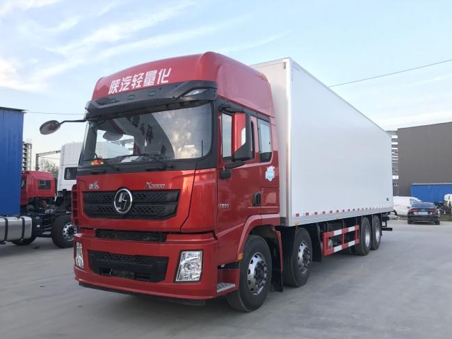 (厢长9.6米)陕汽德龙X3000冷藏车
