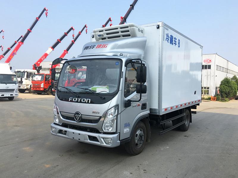 (厢长4.2米)福田奥铃速运冷藏车