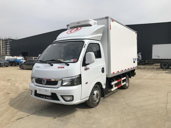 (厢长3.5米)东风途逸国六冷藏车