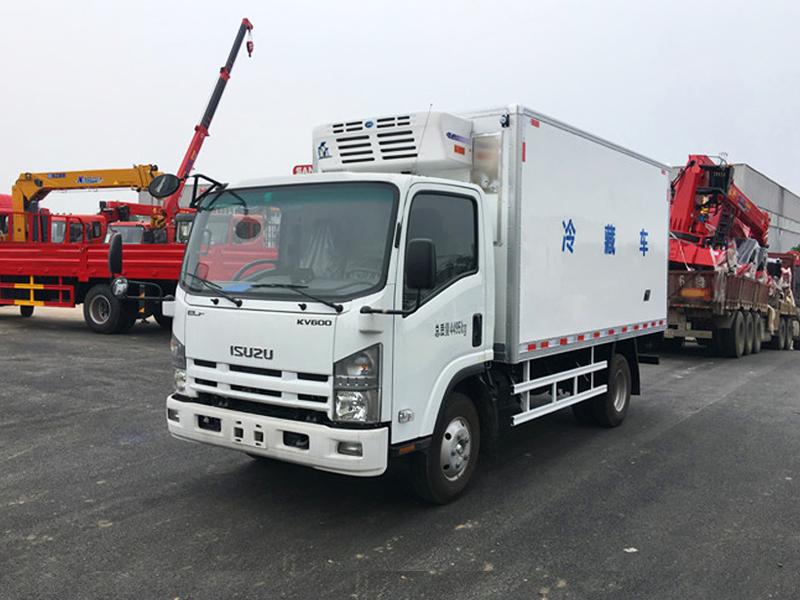 (厢长4.2米)五十铃KV600冷藏车